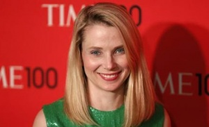 President and CEO of Yahoo, Marissa Mayer, arrives for the Time 100 gala celebrating the magazine's naming of the 100 most influential people in the world for the past year, in New York, April 23, 2013. REUTERS/Lucas Jackson