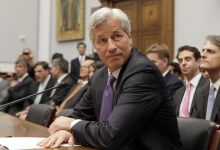 JPMorgan Chase & Co CEO Jamie Dimon testifies before the House Financial Services hearing on &quot;Examining Bank Supervision and Risk Management in Light of JPMorgan Chase's Trading Loss&quot; on Capitol Hill in Washington June 19, 2012. REUTERS/Yuri Gripas