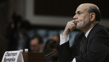 Federal Reserve Board Chairman Ben Bernanke listens to opening remarks before testifying at the Joint Economic Committee in Washington May 22, 2013. REUTERS/Gary Cameron