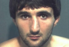 Ibragim Todashev is pictured in this undated booking photo courtesy of the Orange County Corrections Department. REUTERS/Orange County Corrections Department/Handout