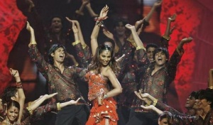 Bollywood actress Bipasha Basu performs on stage during  the Indian International Academy Awards (IIFA) in Sheffield, northern England June 9, 2007. REUTERS/Darren Staples/Files