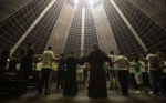 Brazil monks' message of humility