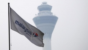 A Malaysia Airlines flag is seen at Kuala Lumpur International Airport in Sepang March 8, 2014. REUTERS/Samsul Said
