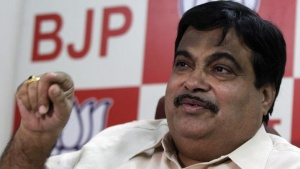 Nitin Gadkari of Bharatiya Janata Party (BJP), speaks during an interview with Reuters at his party office in New Delhi April 9, 2010. REUTERS/Adnan Abidi/Files