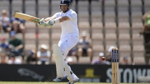 England's Ian Bell hits out during the third cricket test match against India at the Rose Bowl cricket ground, Southampton, England July 28, 2014.  REUTERS/Philip Brown