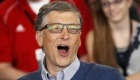 Microsoft founder Bill Gates reacts as he plays table tennis at a Berkshire Hathaway sponsored reception in Omaha, Nebraska May 4, 2014 as part of the company annual meeting weekend. REUTERS/Rick Wilking/Files