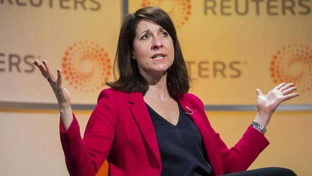 Britain's Labour Party leadership candidate Liz Kendall answers questions at a Reuters newsmaker event at Canary Wharf in London, Britain June 30, 2015. REUTERS/Neil Hall