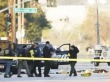 FBI and police investigators surround a vehicle in which two suspects were shot following a mass shooting in San Bernardino, California, December 3, 2015. REUTERS/Mike Blake
