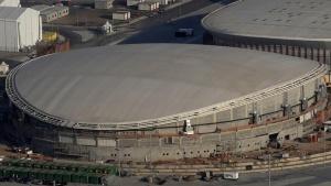 An aerial view of the Rio 2016 Olympic Velodrome venue in Rio de Janeiro, Brazil, April 25, 2016. REUTERS/Ricardo Moraes