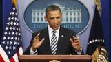 "Obama calls birth controversy ""distra"