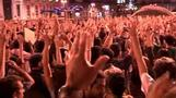 Thousands protest in Madrid
