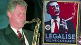 In the weed: Obama hunts Rocky Mountain high