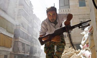 Inside the Free Syrian Army: A trip to the front lines - Fast Forward