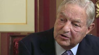 Breaking ties with Germany would expose French weakness - Soros