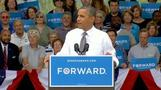 Obama attacks Romney over China