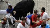 Two badly gored in Spain's bull run