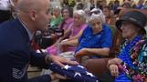 WWII female pilot honored on her 100th birthday