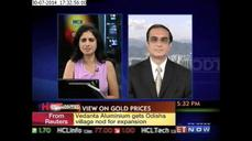 Gold prices seen between $1,250-1,350 per ounce: Scotiabank