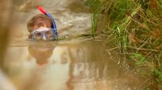 Right muddy mess at World Bog Snorkeling Championships