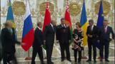 ロシア・ウクライナ両首脳が会談、根本的な相違埋まらず(字幕・27日)