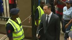 Pistorius arrives in court for sentencing hearing
