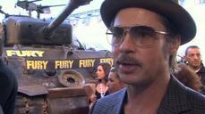Brad Pitt stars in 'Fury'