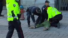Man arrested near Ottawa's War Memorial: media report