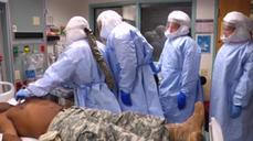 U.S. military trains Ebola rapid-response team