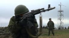 Russia holds military drills