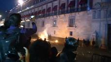 Mexico 'missing' protests turn violent
