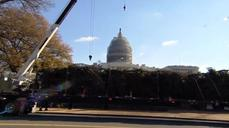 Huge Christmas tree delivered to U.S. Capitol