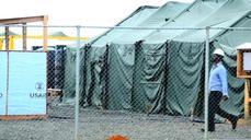 US army completes Ebola treatment unit