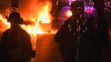 Clashes erupt in Ferguson