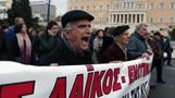 Greek protests bring nationwide transport to standstill