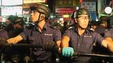Clashes erupt between police and Hong Kong protesters