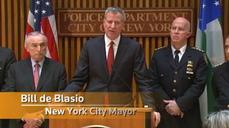 "NY mayor calls on public to ""step forward"" if they know of police under threat"