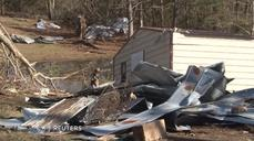 Small Louisiana parish cleans up after Christmas tornado