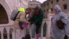 High water swamps Venice as carnival season opens