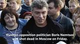Nemtsov tributes arise on social media