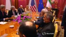 U.S.'s Kerry, Iran's Zarif discuss Iranian nuclear program