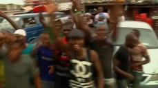 Celebration in Nigeria as opposition challenger Buhari beats Jonathan
