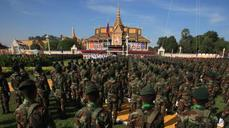 China woos Cambodia with an army school