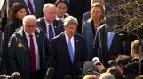 Kerry optimistic about Iran deal as Rouhani focuses on terms