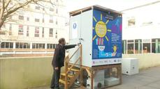 Pee-power toilet to light up disaster zones