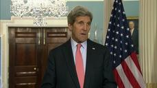 Kerry welcomes Greek foreign minister to Washington