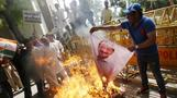 Clashes in India after farmer suicide