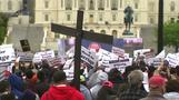 Supporters of traditional marriage rally in Washington