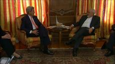 Kerry meets Iran's Zarif on the sidelines of nuclear non-proliferation treaty conference