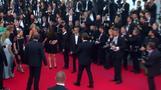 Josh Brolin celebrates new film and new fiancee at Cannes Film Festival