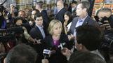 Hillary Clinton says glad her emails were released